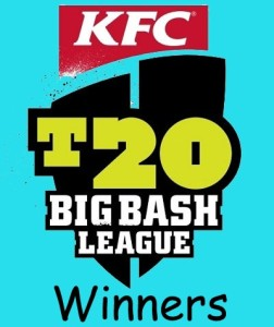 Big Bash League Winners List.