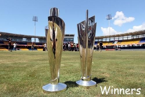 ICC World Twenty20 Winners List