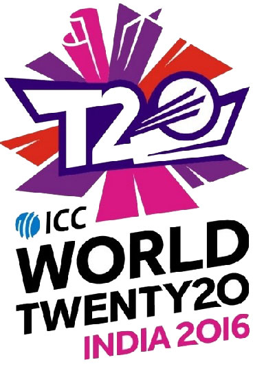 ICC launch world t20 2016 logo.