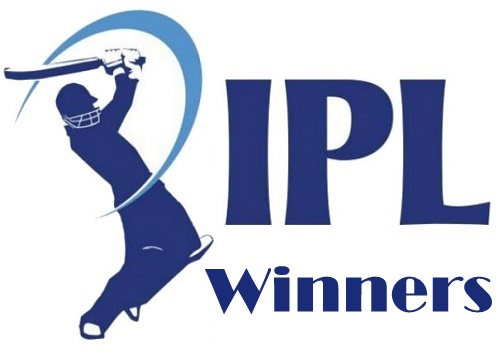 Indian Premier League Winners.