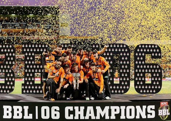 Perth Scorchers won 2016-17 big bash.