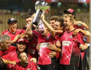 Sydney Sixers won 2011-12 big bash league