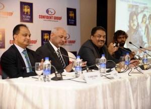 Confident Group to sponsor Sri Lanka team in World T20 2016.