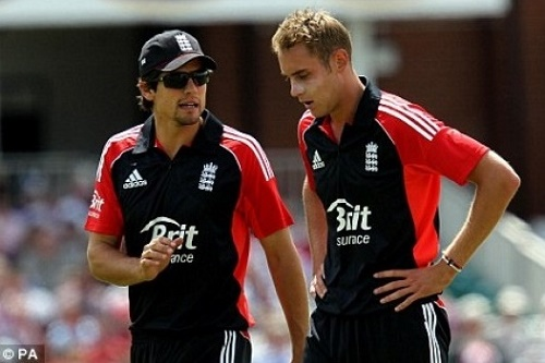 Cook wants Stuart Broad to play in ICC world T20 2016.