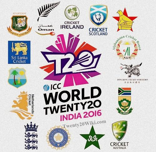 ICC World Twenty20 2016 First & Super-10 Groups.