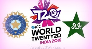 India to face Pakistan in 2016 world t20 on 19 March