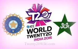 India to face Pakistan in 2016 world t20 on 19 March.