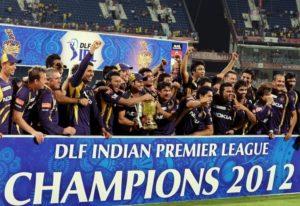 Kolkata Knight Riders won 2012 ipl