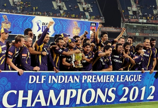 Kolkata Knight Riders won 2012 ipl