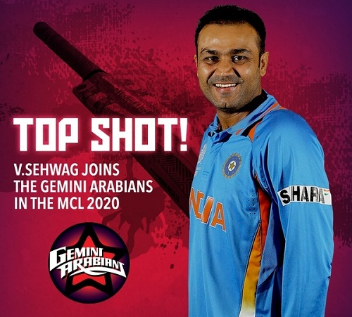 List of players Gemini Arabians bought for MCL 2016.