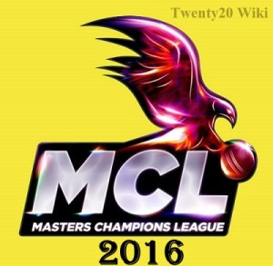 Masters Champions League 2016 Schedule.