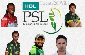 PSL Teams Squad after players draft.