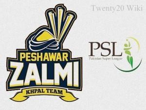 Peshawar Zalmi Team Squad for PSL 2016.