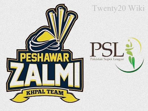 Peshawar Zalmi Team Squad for PSL 2016.