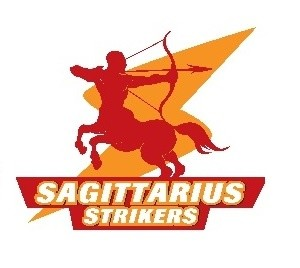 Sagittarius Strikers Official Logo.