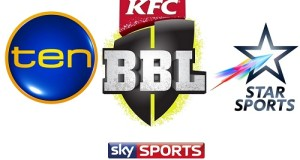 Where to watch Big Bash League 2015-16 Live