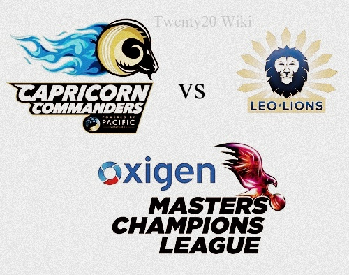 Capricorn Commanders vs Leo Lions Live Streaming.