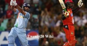 Gayle equalize Yuvraj's 12-ball fifty Twenty20 record