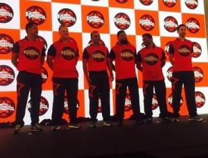Gemini Arabians players jersey.