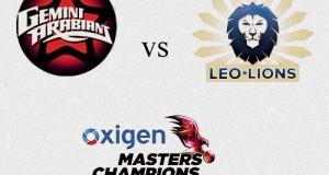 Gemini Arabians v Leo Lions Live MCL 2016 Match-4