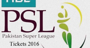 HBL Pakistan Super League 2016 Tickets sale begins
