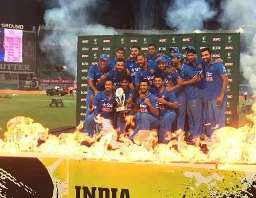 India creates history as whitewash Australia in Australia.