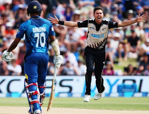 Kiwis beat Sri Lanka in a close contest by 3 runs.