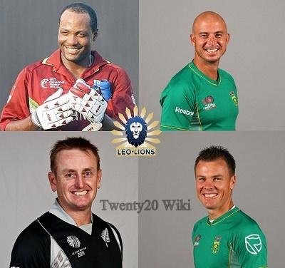 Leo Lions Squad for 2016 MCL Twenty20.