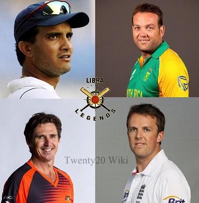 Libra Legends Squad for 2016 MCL Twenty20.