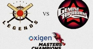 Libra Legends vs Gemini Arabians Live Streaming