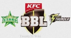 BBL-05 Final live Stream: Melbourne Stars v Sydney Thunder