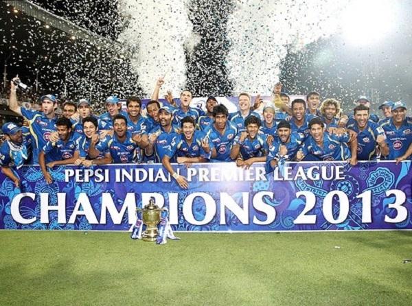 Mumbai Indians won ipl 2013.