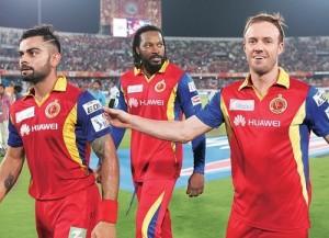 Royal Challengers Bangalore Squad for IPL 2016.
