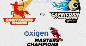 Sagittarius Strikers v Capricorn Commanders Live Streaming