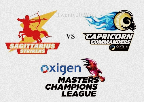 Sagittarius Strikers v Capricorn Commanders Live Streaming.