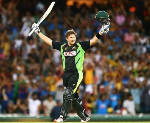 Shane Watson: First batsman to hit T20I century in Australia.