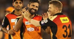 Sunrisers Hyderabad Squad for Vivo IPL 2016