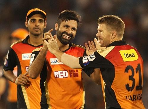 Sunrisers Hyderabad Squad for Vivo IPL 2016.