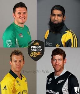 Virgo Super Kings Squad for 2016 MCL Twenty20.