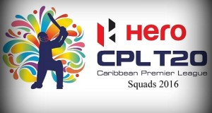 All 6 Teams Squad for CPL 2016