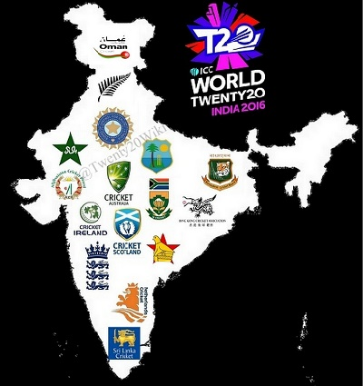 All Teams Squad for ICC World Twenty20 2016.
