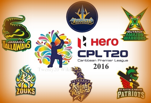 Caribbean Premier League 2016.
