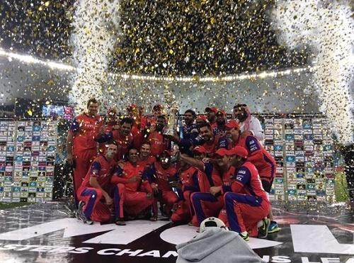 Gemini Arabians win Masters Champions League.