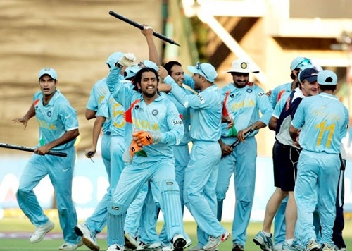 ICC World Twenty20 2007 Winning team India Squad.