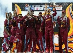 ICC World Twenty20 2012 Winning West Indies Squad.
