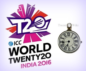 ICC release world t20 2016 match timings, warm-up schedule.