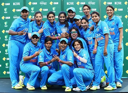 India named Women's team for Twenty20 world cup 2016.