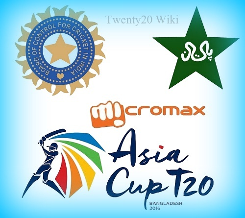 India v Pakistan 2016 Asia Cup TV Channel, Telecast.