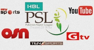 Pakistan Super League 2016 Live Streaming, Telecast