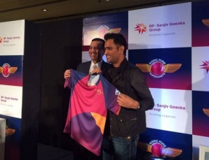 Rising Pune Supergiants Launch Team Jersey.